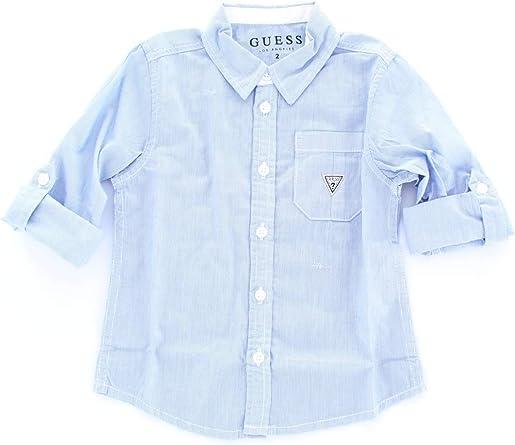 Guess N91H06WB3R0 Camisa niño 24M: Amazon.es: Ropa y accesorios