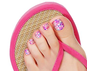 Authentic Incoco Nail Polish 16 Double-Ended Strips by It's a Nail - PARTY  ON