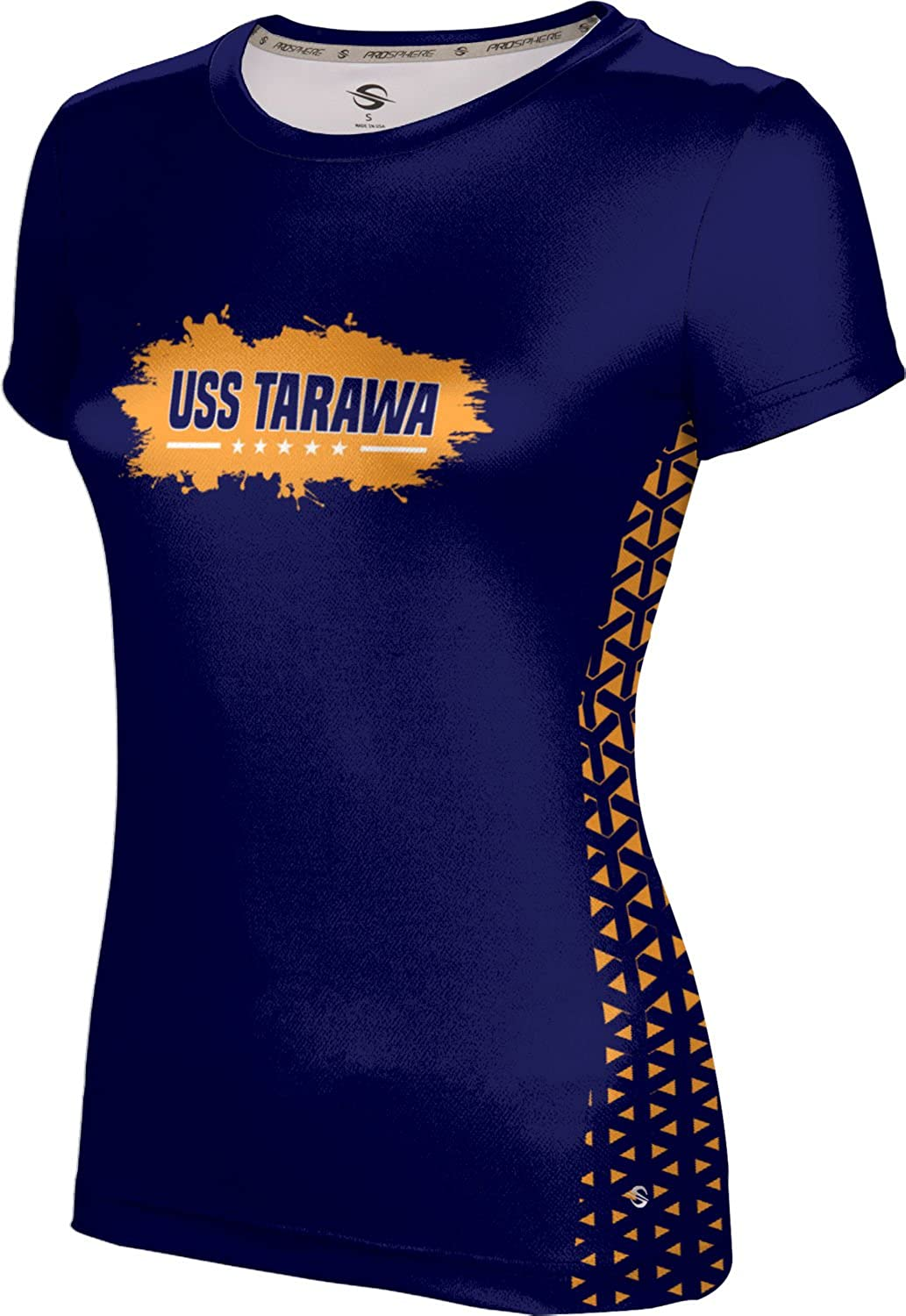 ProSphere Women's USS Tarawa Military Geometric Tech Tee
