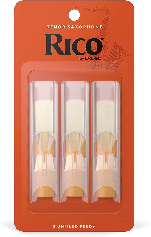 Rico RKA0320 Cañas para Saxo Tenor: Amazon.es: Instrumentos musicales
