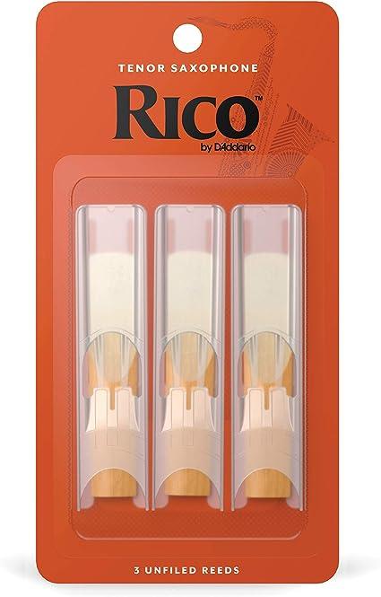#1 1//2 3-pack RKA0315 Free Shipping Rico Regular Tenor Sax Reeds # 1.5