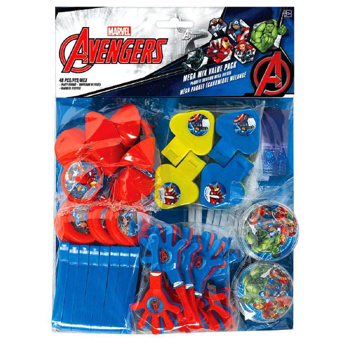 Marvel Accessoires de fête sur le thème Avengers Amscan 393375