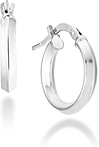 Made in Italy MiaBella 925 Sterling Silver Italian Twisted Hinged Bangle Bracelet for Women Girls from 6.75 to 8 Inch