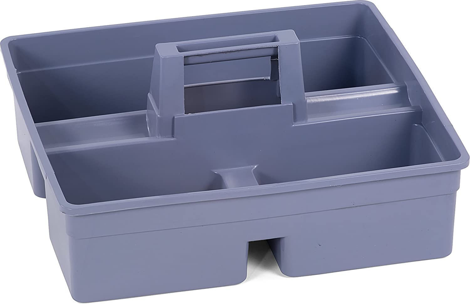 Carlisle JC1945CB23 Polypropylene Tool Caddy, 15.13 Length x 13.13 Width x 8-1/2 Height, Gray, For Janitorial Cart Carlisle Corporation