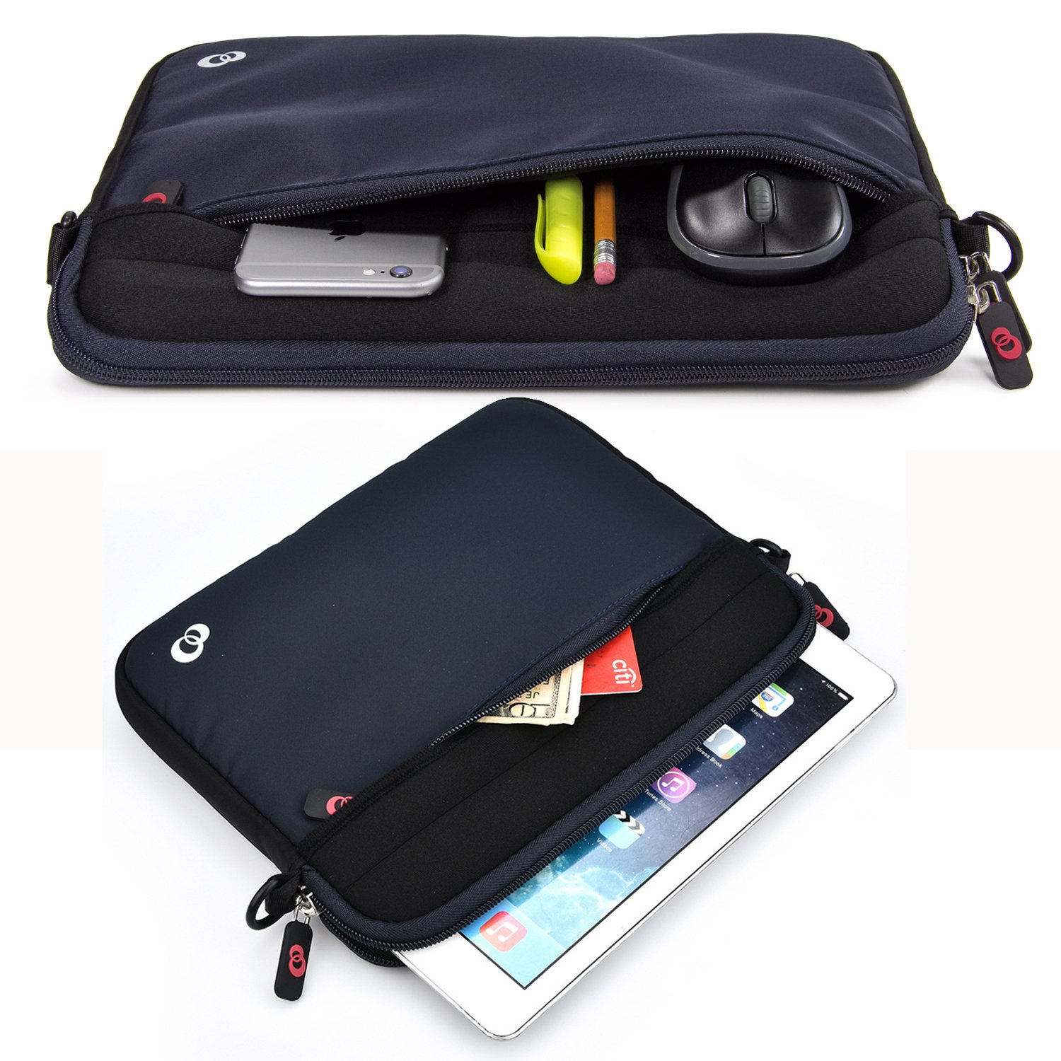 Microsoft Surface Chromebook Water Resistant Neoprene Notebook Computer Carrying Cover for Apple MacBook Kroo Laptop Sleeve Tablet Bag