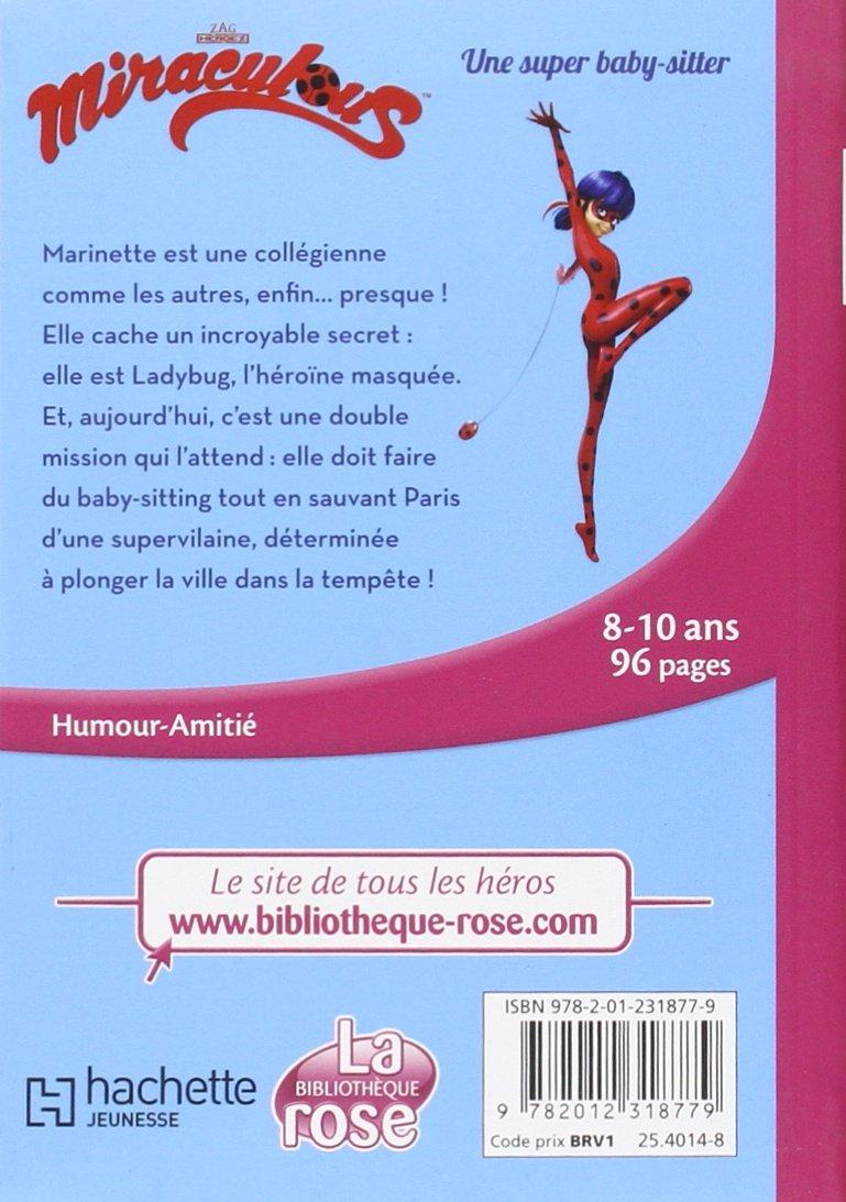 Amazon Fr Miraculous 01 Une Super Baby Sitter Zagtoon