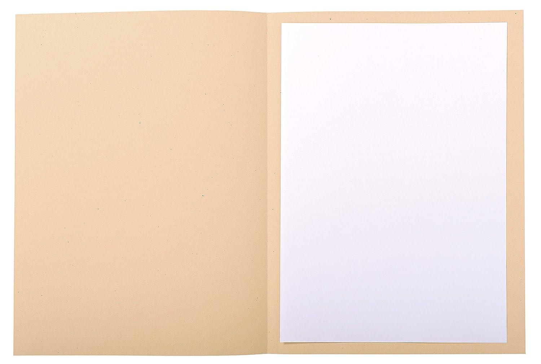 24x32 cm Crema Exacompta 435002E Cartelle Semplici
