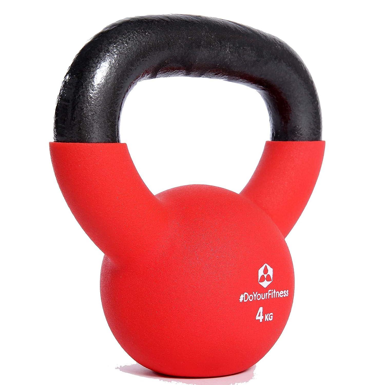 Kettlebell »Kylon« pesa esférica / pesas rusa 2 - 20 kg / Pesa de mano de 100 % hierro con superficie de neopreno / Calidad de gimnasio para un alto ...