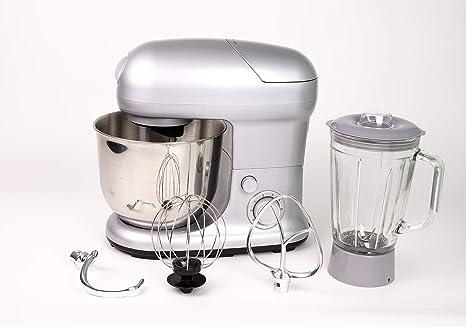 Ohmex OHM-SMX-9890 - Robot de cocina multifunción (1300 W, capacidad 5 L, 6 velocidades, protección contra sobrecalentamiento): Amazon.es: Hogar
