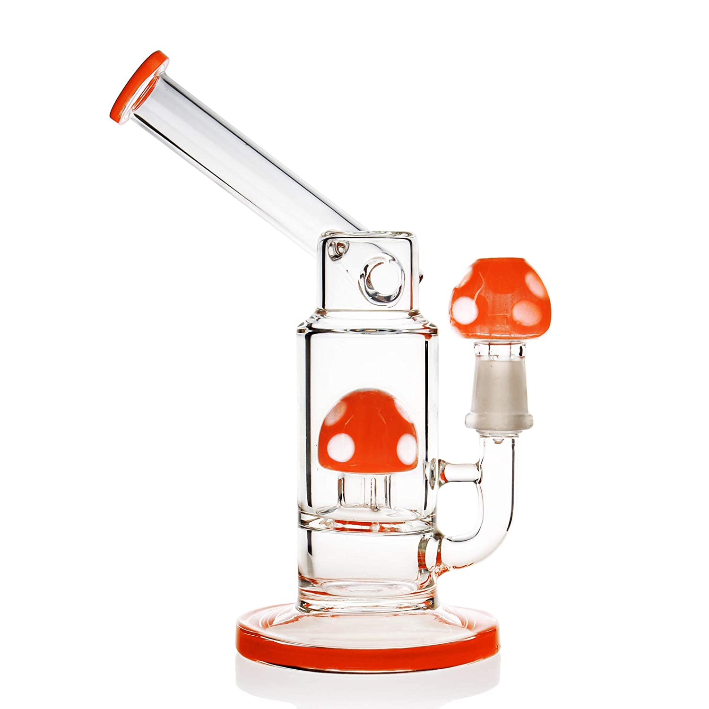 REANICE Bong Glas 14mm Hookah Percolator Wasser Vork/ühler /Überzug 30cm Alien Wasserpfeife Chillum Bongs