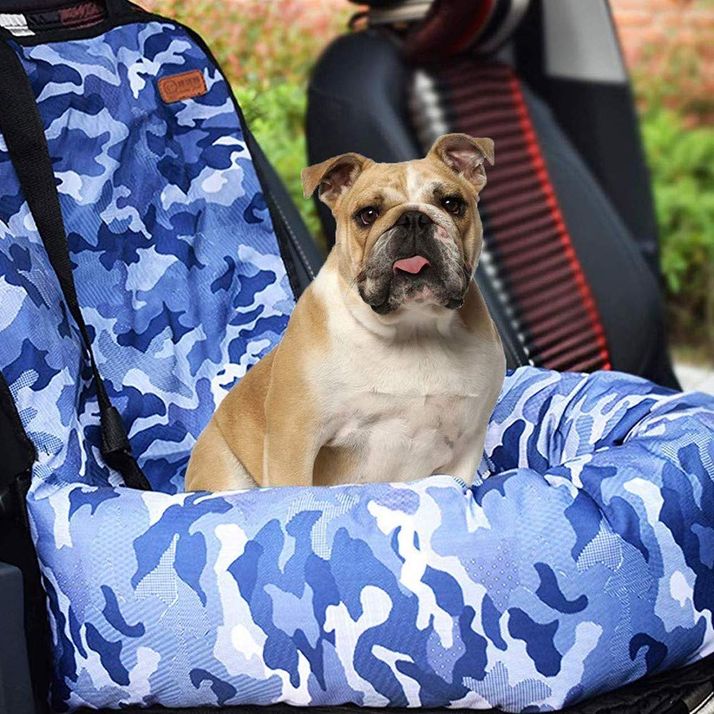 Pet Car Carrier for Small Medium Large Dogs//Cats,Puppy Travel Lookout Booster Seat with Non-Slip Bottom /& Washable Cover Solid Black