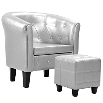 Amazon.com: Harper&Bright designs Armchair Modern Upholstered ...