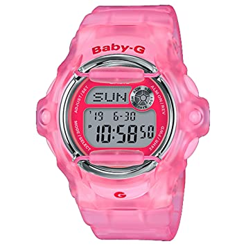 379f514ba8565 Amazon.com  Casio BG169R-4E Baby-G Women s Watch Pink 42.6mm Resin ...