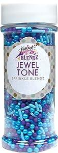 Festival Jewel Tone Sprinkle Blendz, Assorted Colors, 4.8 oz. Jar