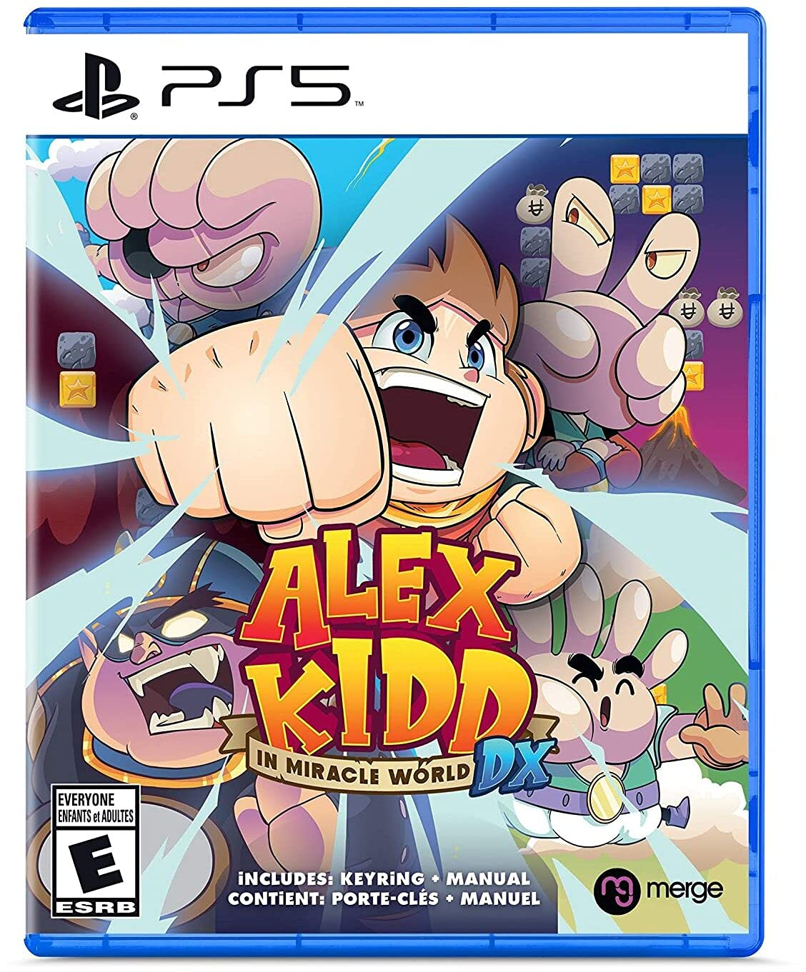 Poster. Alex Kidd in Miracle World DX