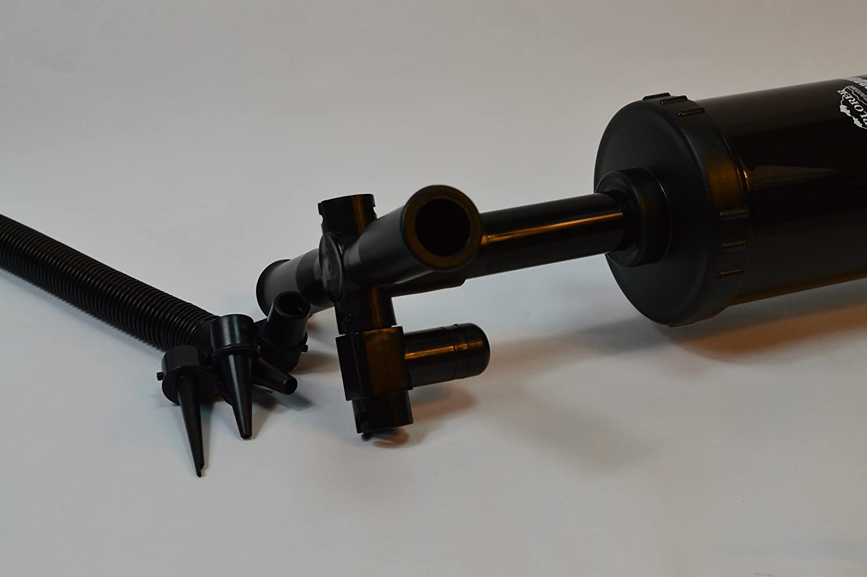 Luftmatrazen,Schlauchboot Unbekannt 1X Explorer Doppelhubpumpe Luftpumpe Doppelhub Volumen:2 x 3.000 cm/³ Schwimmringen usw. Zum Aufblasen und Entleeren von z.Bsp DIN 2 x 2.200 cm/³