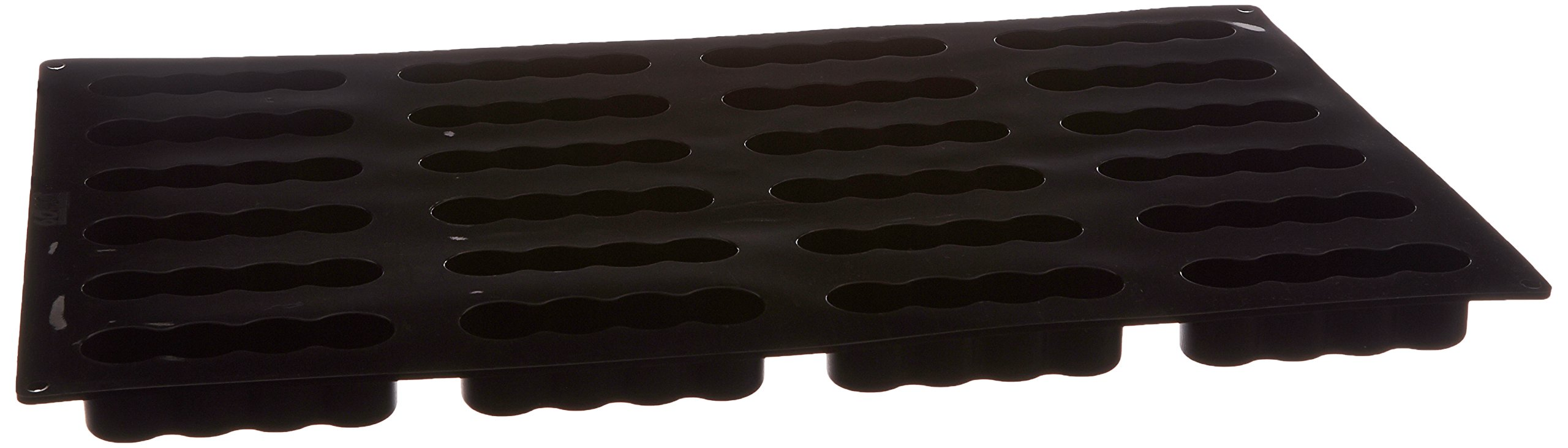 Paderno World Cuisine 4-1/2-Inch by 1 1/4-Inch Non-stick Silicone Cylinder Mold (24x) by Paderno World Cuisine (Image #1)