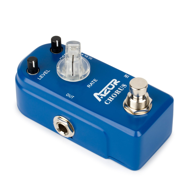 AZOR Chorus Guitar Effect Mini Pedal Pure Analog True Bypass