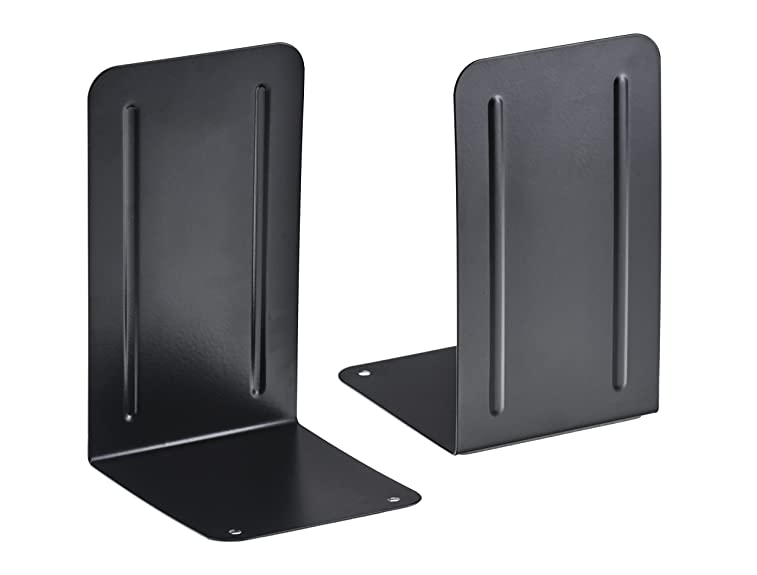 Acrimet Bookends Black (1 Pair Pack)