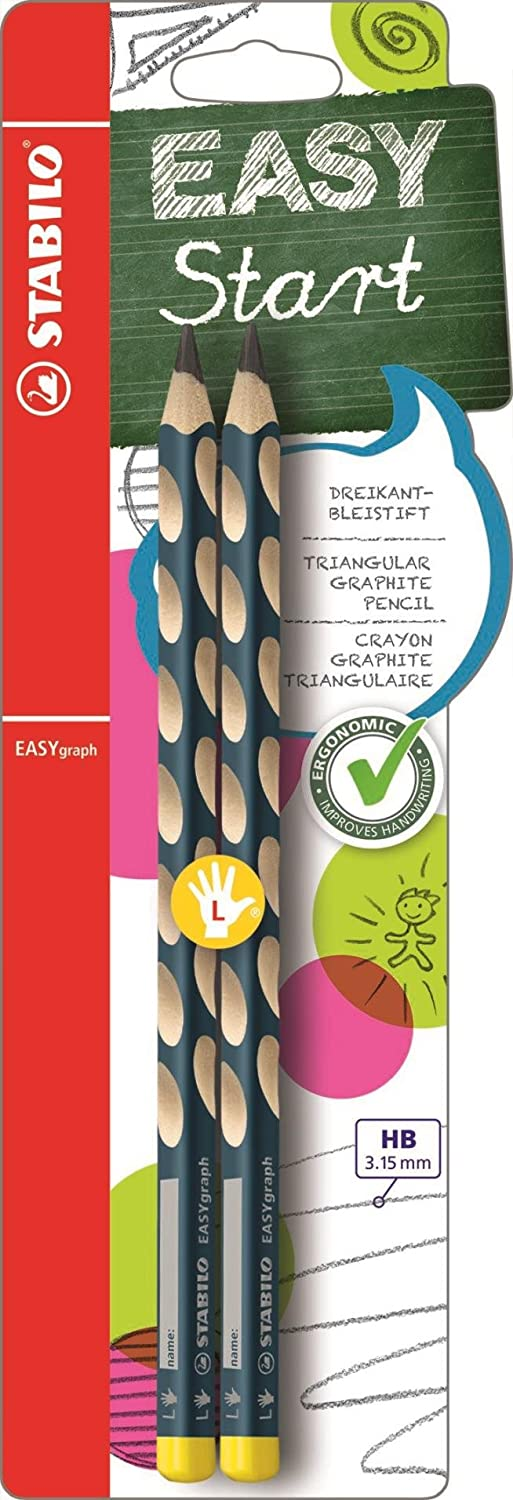 STABILO EASYgraph Left handed Pencil - 2 pack B-39888-5
