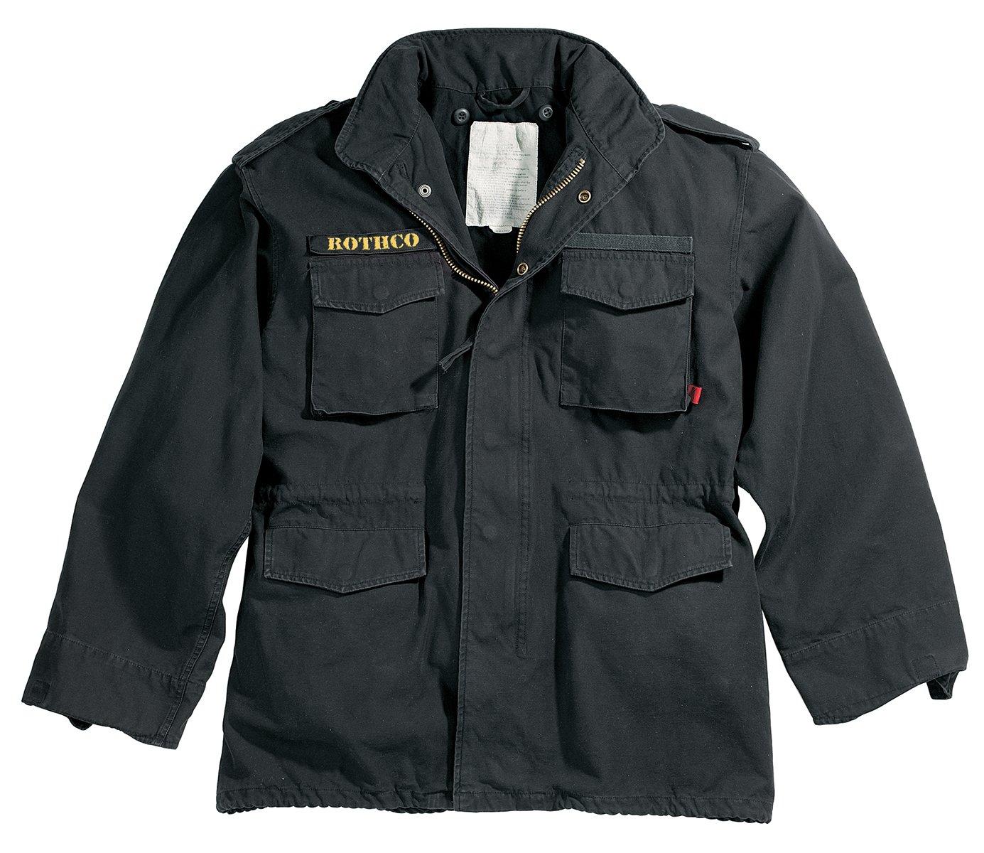 Uf Black Vintage M-65 Jacket, Xsmall