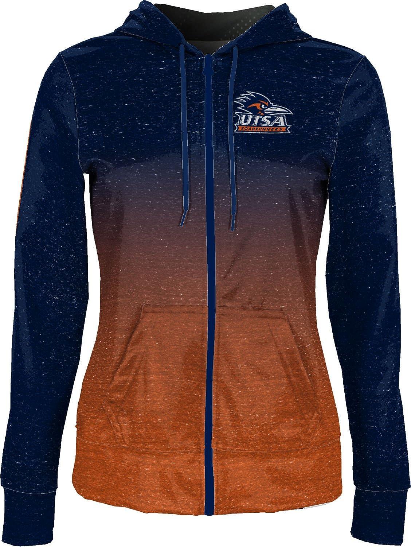 The University of Texas at San Antonio Girls Zipper Hoodie Ombre School Spirit Sweatshirt