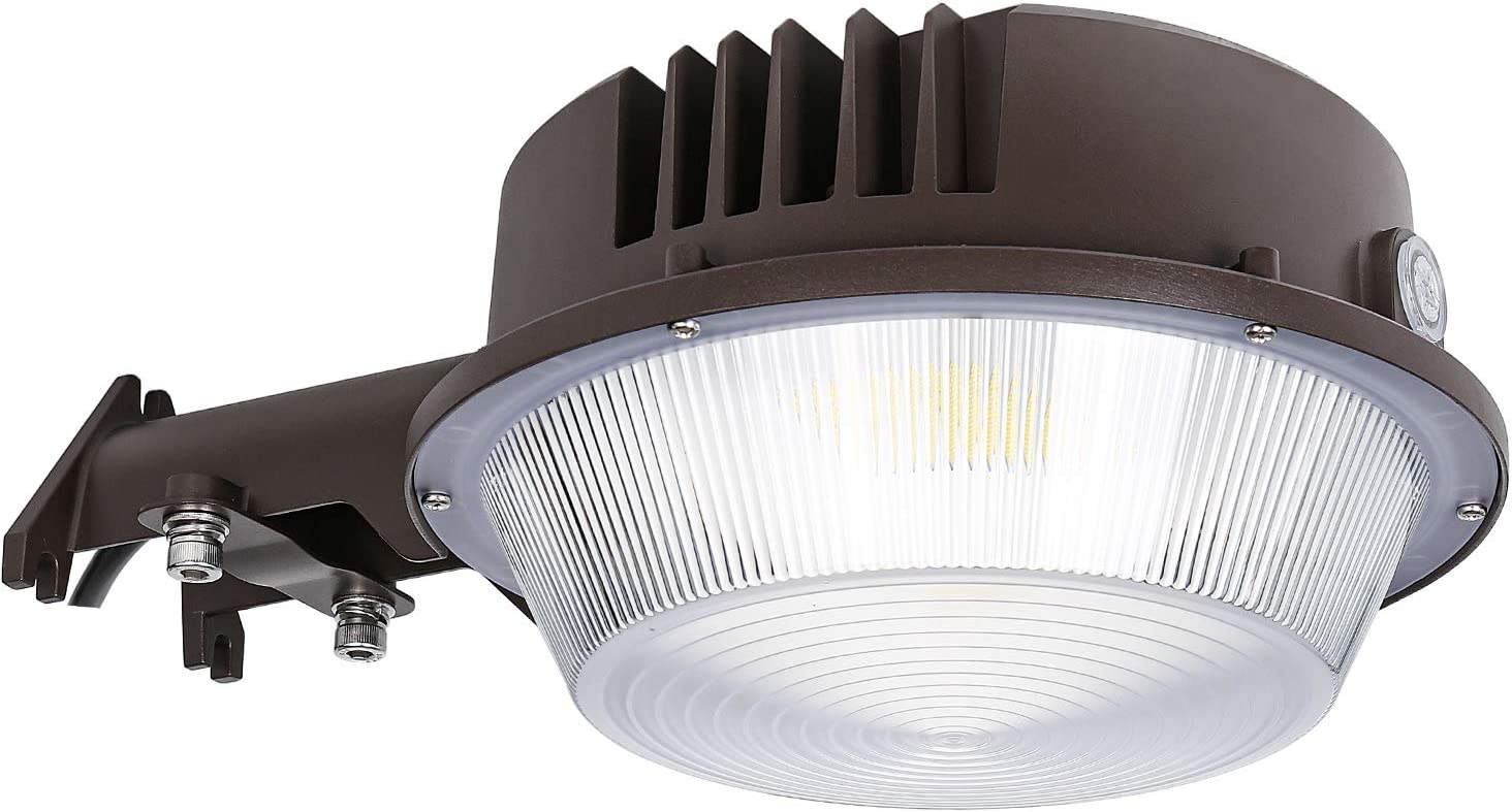 Led Post Top Light 60W 80W Photocell Dusk to Dawn Yard Commercial Area Light US