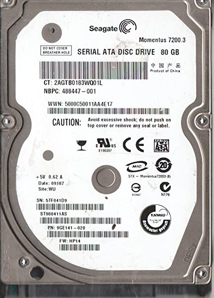 HP SEAGATE ST980411AS HDD DRIVERS FOR WINDOWS XP