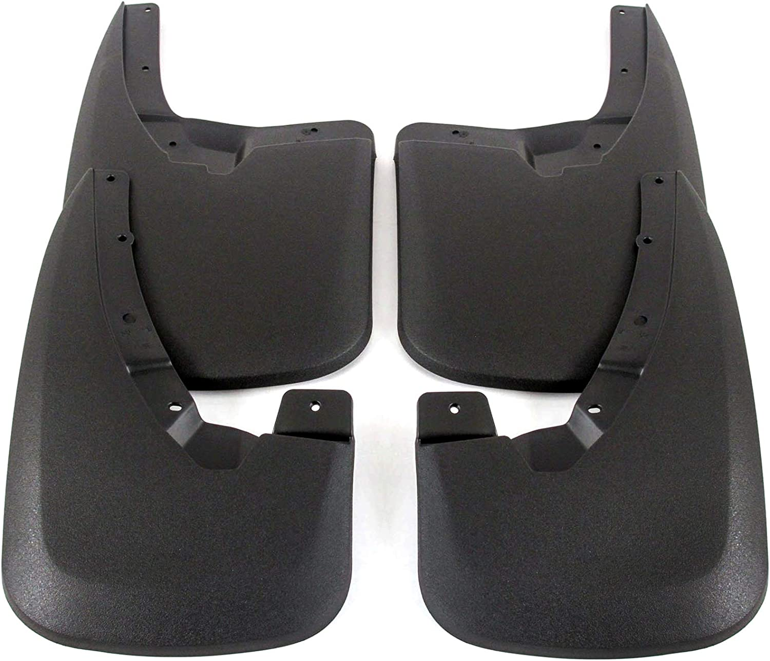 Husky Liners Front /& Rear Mud Guards Fits 09-18 Ram 1500 WITH OEM Fender Flares,