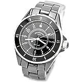 [ピエールタラモン]pierretalamon 腕時計 メンズ ウォッチ ジュエリーコレクション セラミック ブラック PT-1600H-BK メンズ