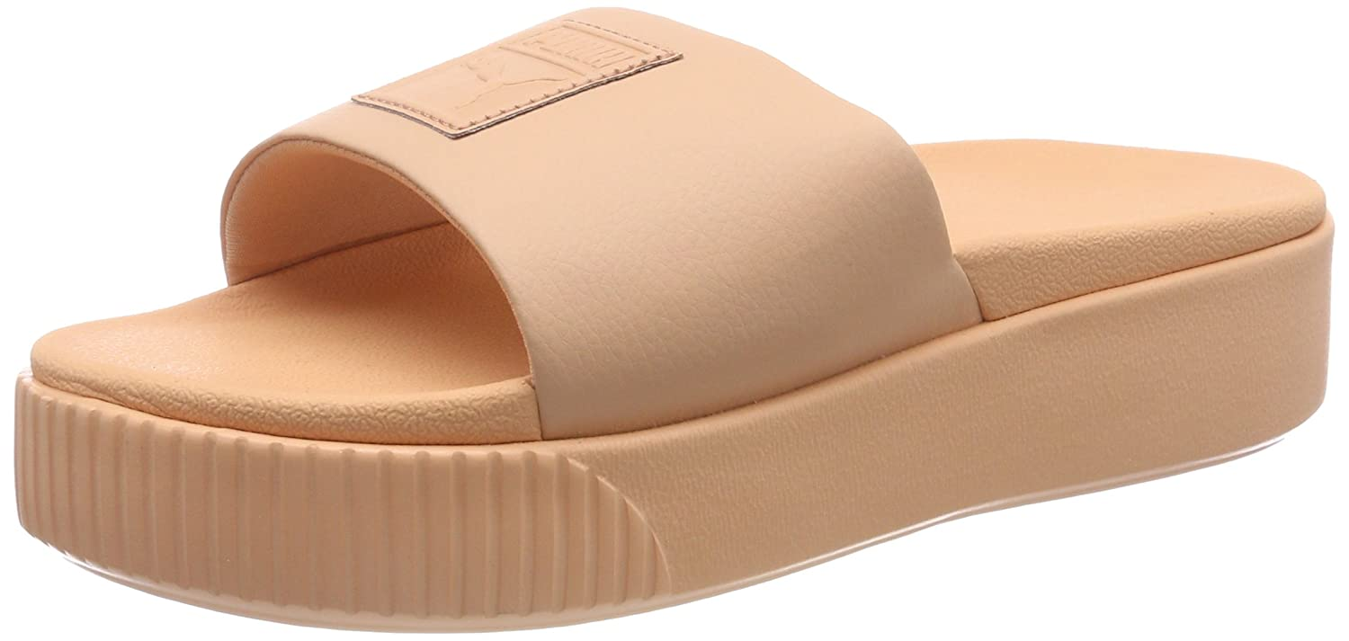 Puma Platform Slide WNS Peach  Buy Online at Low Prices in India - Amazon.in 6d5cc1238