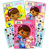 disney junior doc mcstuffins coloring book super set 3 books with stickers doc - Doc Mcstuffins Coloring Book