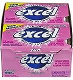 Excel Sugar-Free Gum, Bubblemint, 12-Count