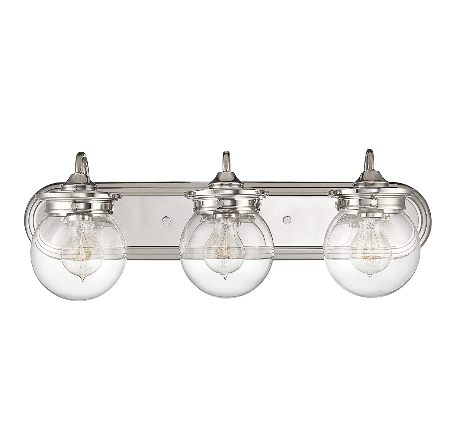 50%OFF Savoy House 8-232-3-109 Downing 3-Light Bath Bar Fixture