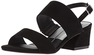 81a0a07a8f7e Dolce Vita Girls  Lorne Heeled Sandal Black Microsuede 1 M US Big Kid