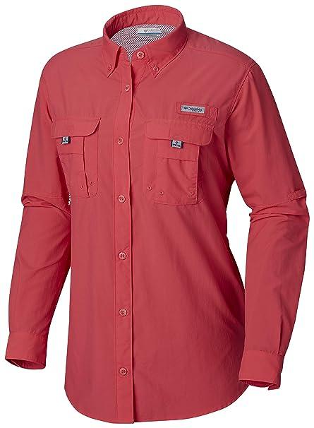 Amazon.com  Columbia Women s PFG Bahama Ii Long Sleeve Shirt ... a25801a9c432