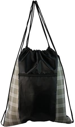 Amazon.com   Designer Inspired Drawstring Cinch Backpack ...
