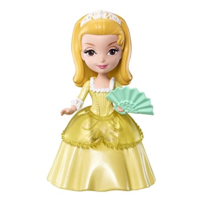 Mattel Disney Sofia the First Princess Amber 3-Inch Figure #3: Toys & Games