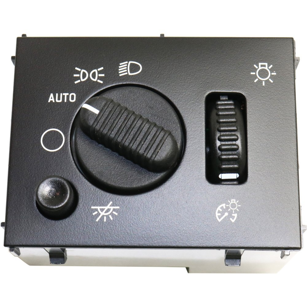 Dimmer Switch for Chevrolet Silverado 03-07 Also Controls Headlight and Dome Light Evan-Fischer