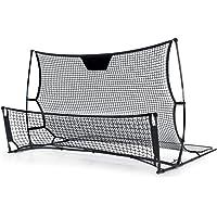 Everfit Portable Soccer Rebounder Net Training Football Goal Post Trainer Netting 2-in-1 Design Quick Setup Lightweight…