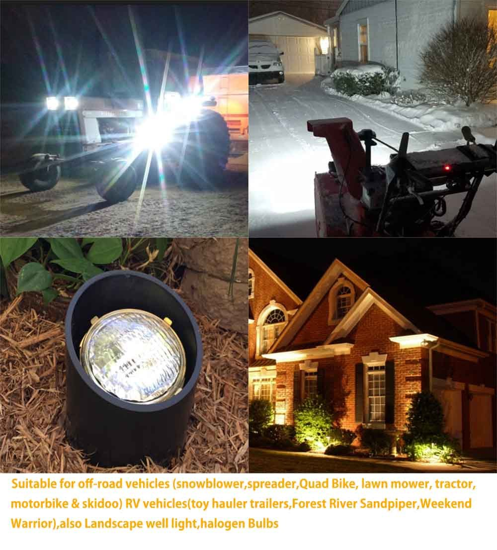 VSTAR PAR36 LED Bulb,15W 2000LM 5000K Daylight,With Lenses,High Concentration,Super Bright LED,Multipurpose Tractor Light,Two Years Warranty