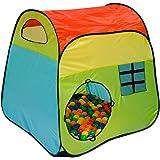 Tenda gioco per bambini MILO | faciele da montare | leggera da trasportare | Ideale per dentro e fuori casa | Con pratica custodia per riporla e/o trasportarla