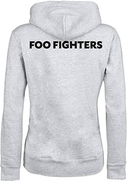 Foo Fighters Concrete and Gold Girl Kapuzenpulli grau L