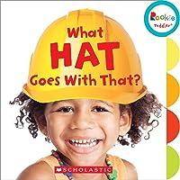(进口原版) 学乐 幼儿ABC What Hat Goes With That?