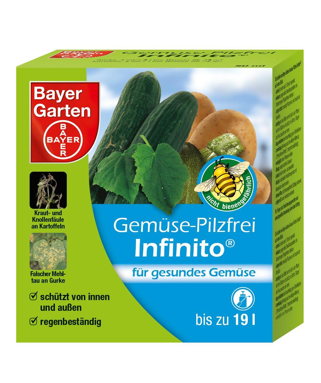 Bayer Garten Gemüse-Pilzfrei Infinito Pilzbekämpfung, Beige, 50 ml SBM Life Science GmbH 84088269
