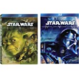 STAR WARS Original Trilogy + STAR WARS Prequel Trilogy (6 BLU-RAY) ITALIANO