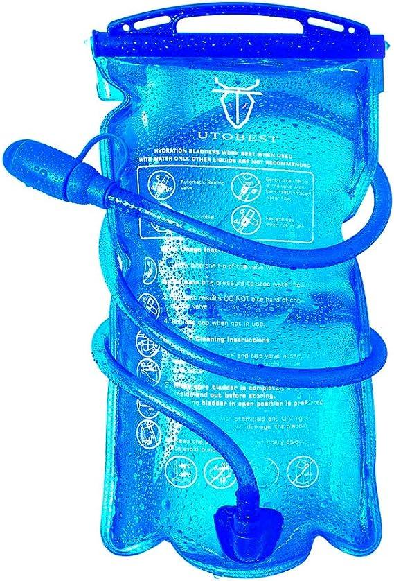 UTOBEST Bolsa de Hidratación de Bolsa de Agua para 1L,1.5L,2L y 3L ...