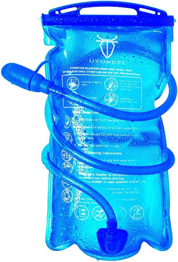 UTOBEST Bolsa de Hidratación de Bolsa de Agua para 2L: Amazon.es ...