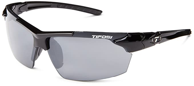 7bb786d4c8 Amazon.com  Tifosi Jet 0210400270 Wrap Sunglasses