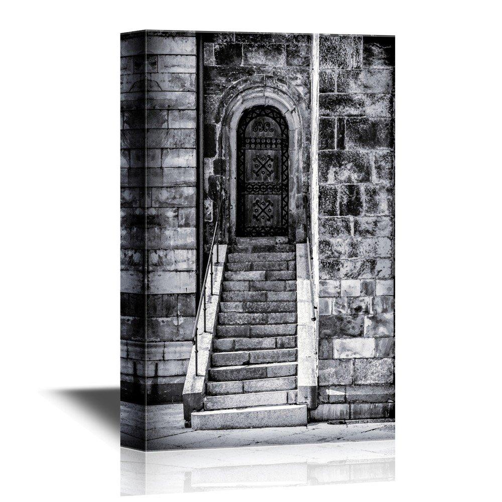Doors Cathedral Door and Steps Lund Sweden Gallery. Canvas Art  sc 1 st  Wall26 & Doors Cathedral Door and Steps Lund Sweden Gallery - Canvas Art | Wall26